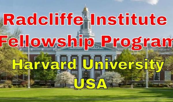 Radcliffe Institute Fellowship Program 2022/2023 At Harvard University